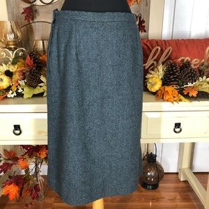 Pendleton  Womens 100% pure virgin wool skirt